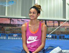Laura Salin Eyike s'entraîne depuis 4 ans au Pôle Espoirs de Nantes.