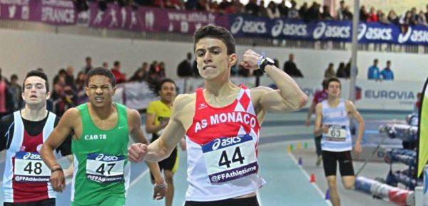 Téo Andant détient le nouveau record de France cadets du 400m en salle.