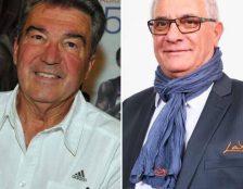 Qui d'André Giraud (à gauche) ou de Marcel Ferrari succédera à Bernard Amsalem à la tête de la FFA ?