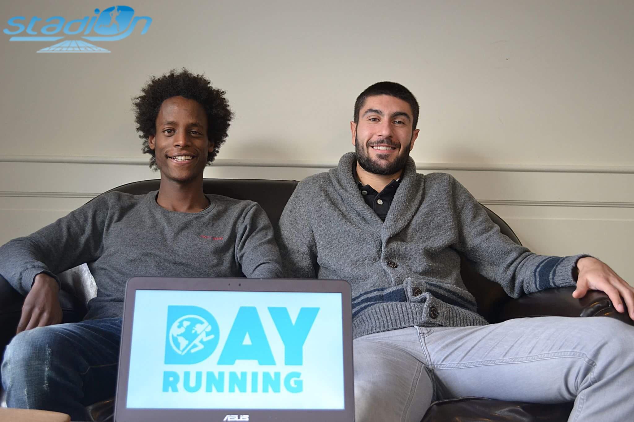 Dimitri Pasquereau et Yosi Goasdoué : L'aventure Day Running