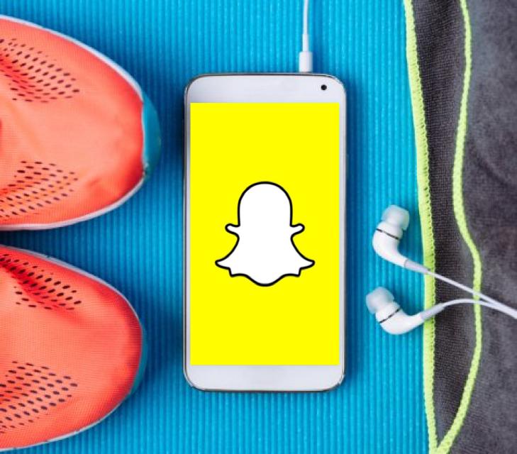 Snapchat, un succès auprès des athlètes français