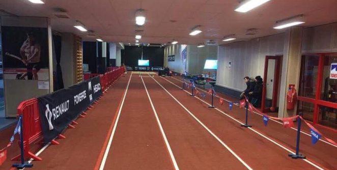 La piste n'attend plus que les sauteurs pour inaugurer l'Open Indoor de Tignes.