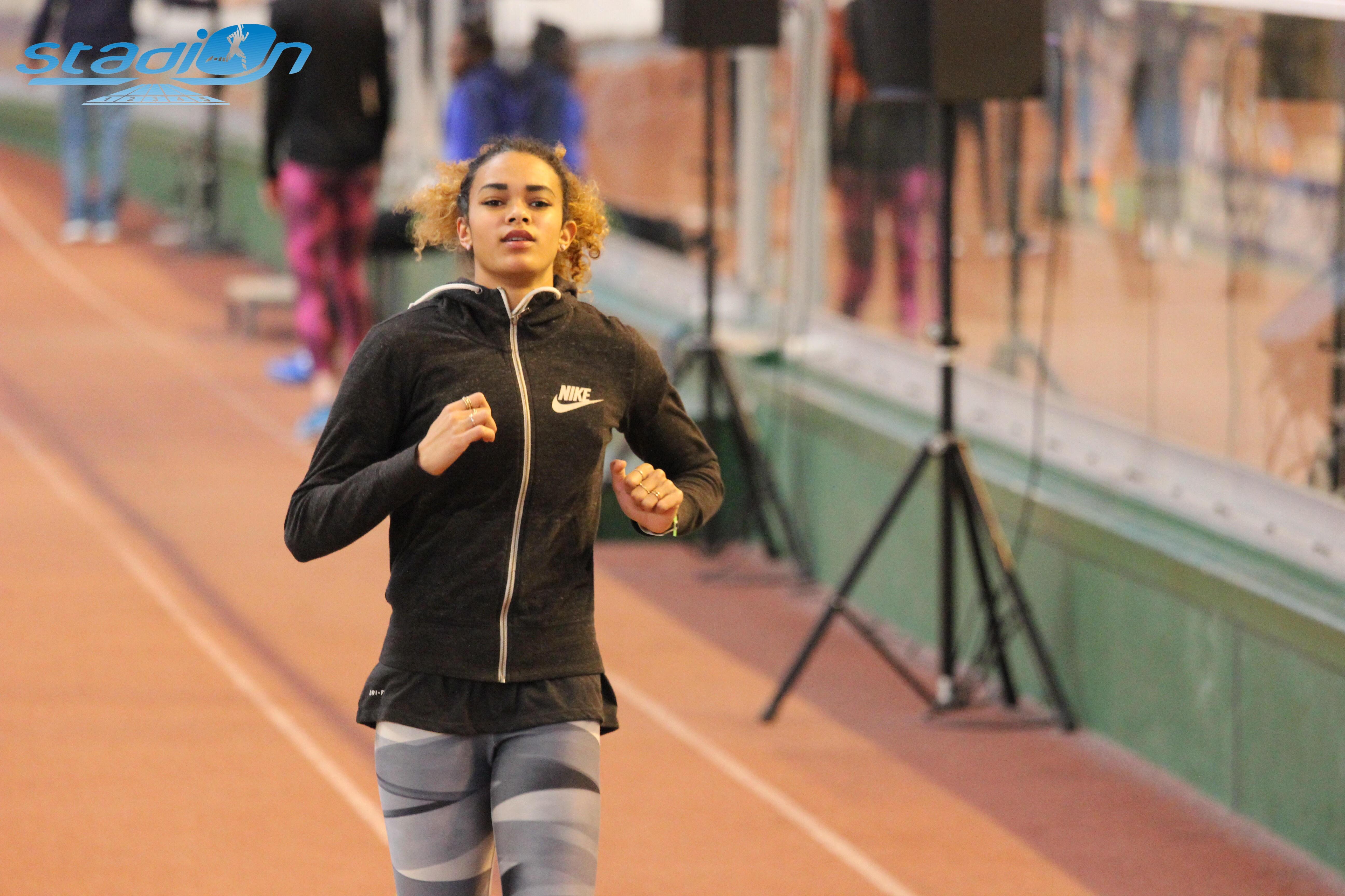 Laura Salin-Eyike réalise les minima pour les Europe espoirs au saut en hauteur