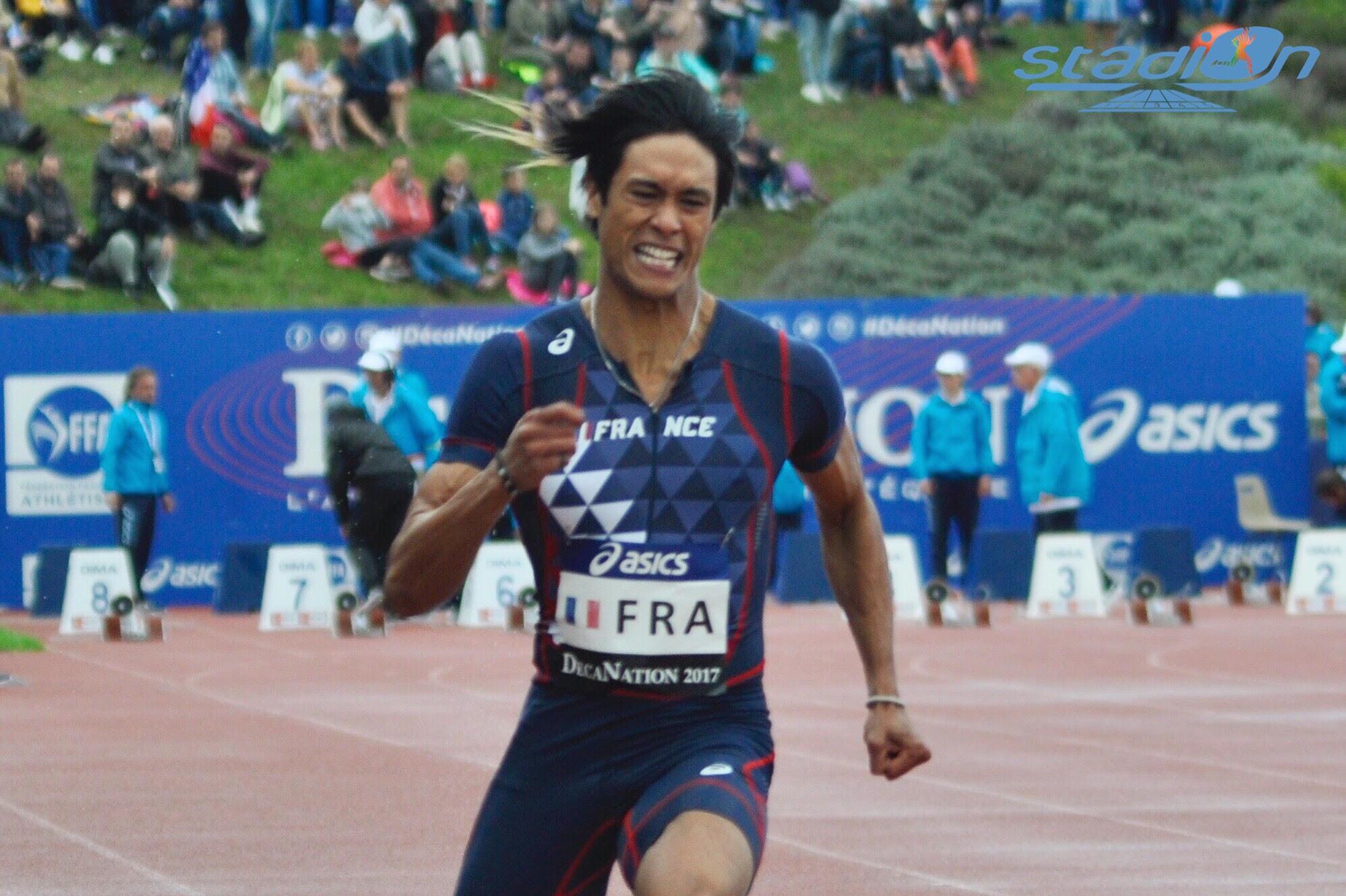 Championnats de France universitaires en salle : Raihau Maiau voit double