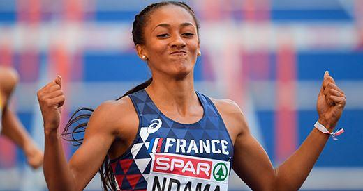 Championnats d'Europe : Solène Ndama et Rouguy Diallo en mode record