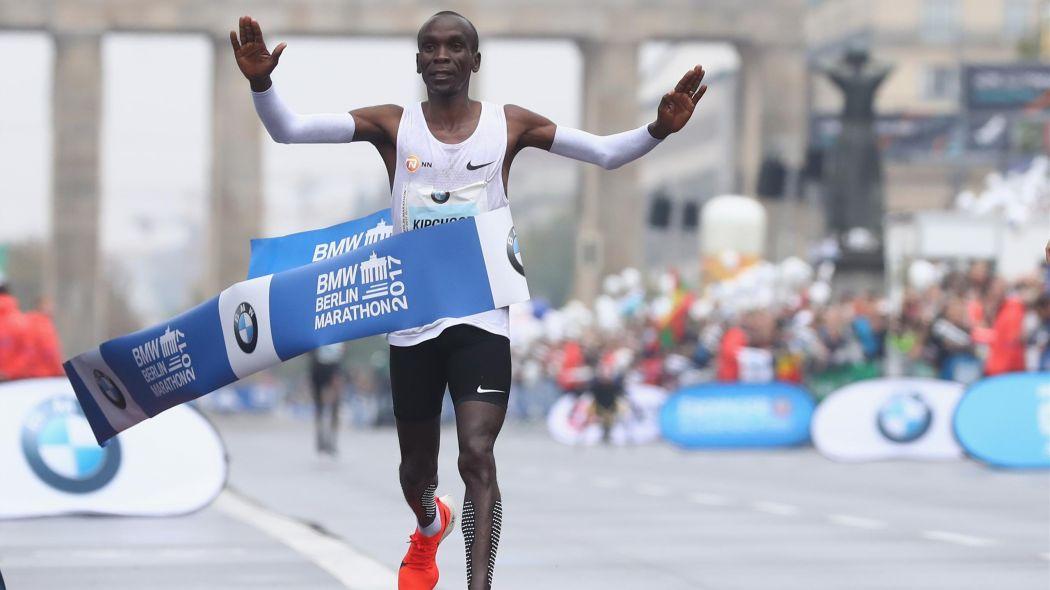 Record du monde du marathon pour Eliud Kipchoge à Berlin