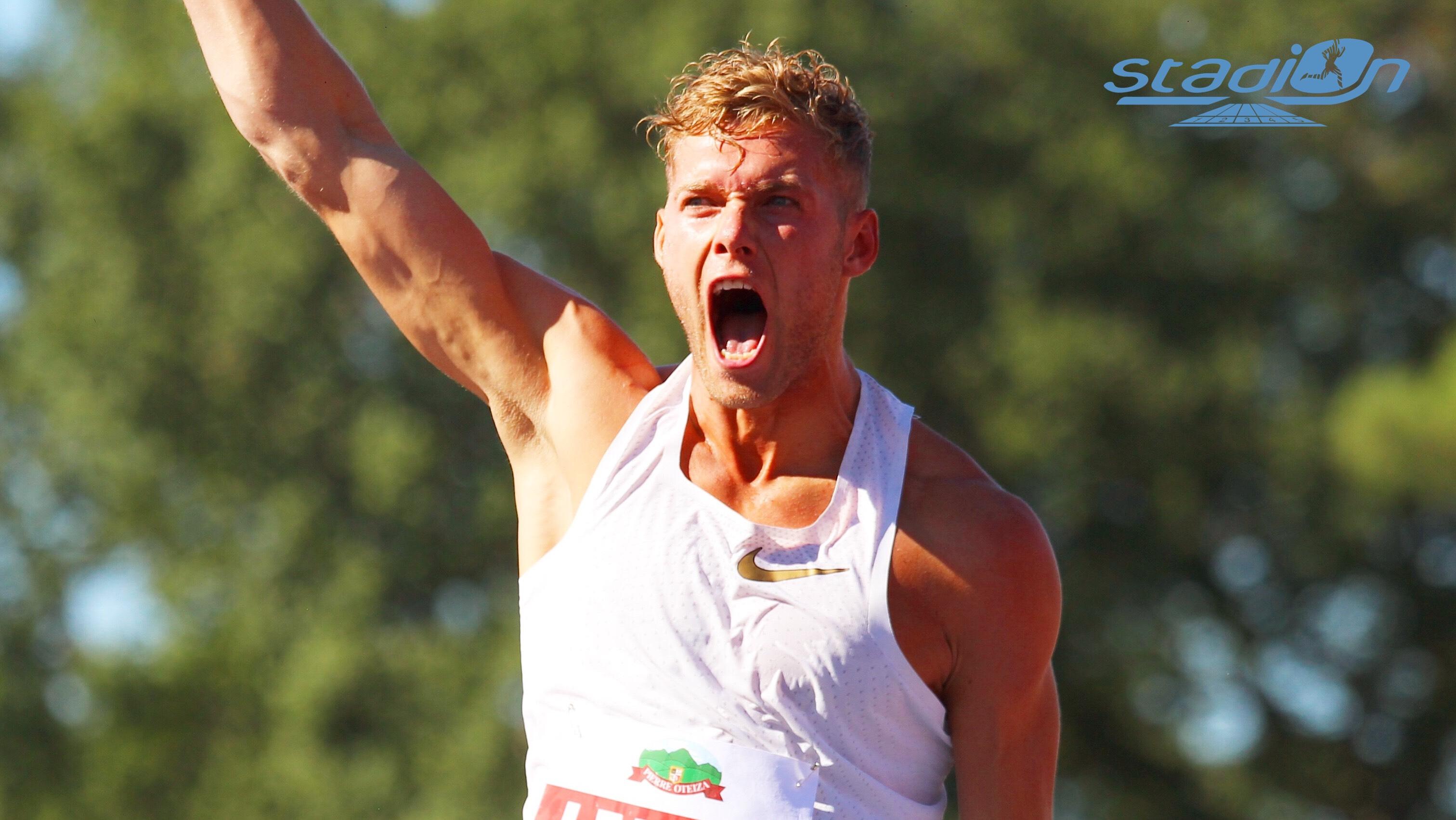 Athlète de l'année IAAF : Kevin Mayer en finale