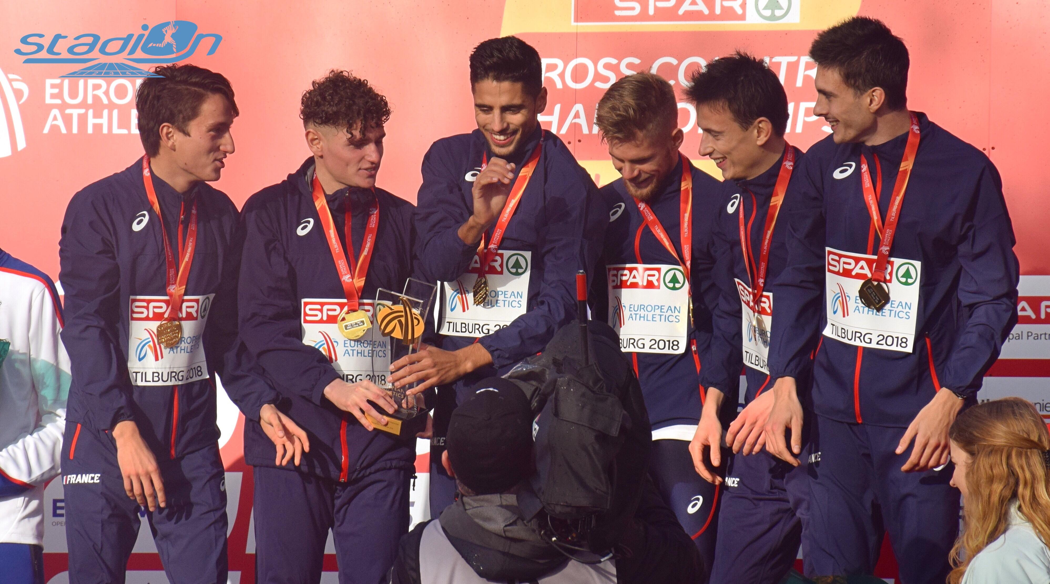 Championnats d'Europe de cross : La France deuxième du tableau des médailles