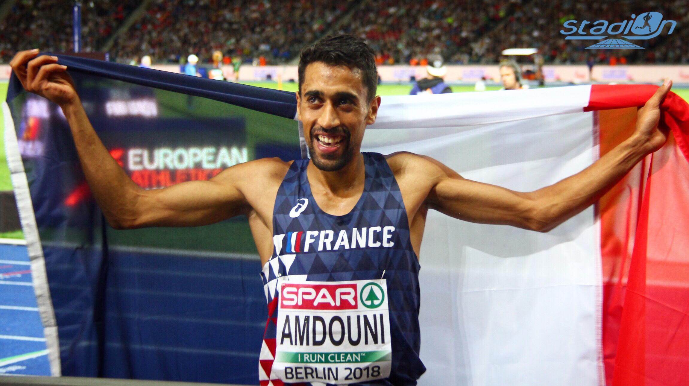Morhad Amdouni en route pour le marathon