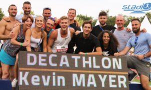 Kevin Mayer ne cache pas son souhait de faire rentrer définitivement le triathlon au programme de la Diamond League.