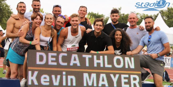 Kevin Mayer ne cache pas son souhait de faire rentrer définitivement le triathlon au programme de la Diamond League.
