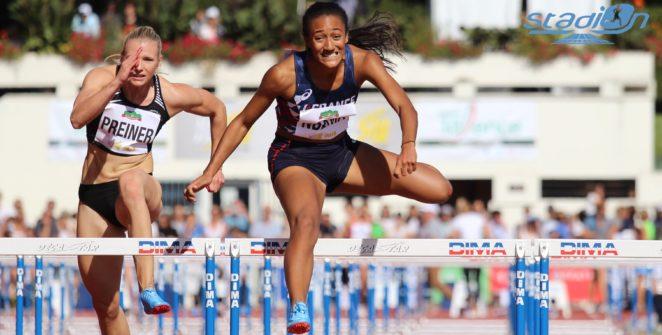 Solène Ndama et Carolle Zahi disputeront également l'heptathlon (Ndama) et le 200 m (Zahi), lors des Championnats du Monde, du 27 septembre au 6 octobre 2019 à Doha, Qatar.