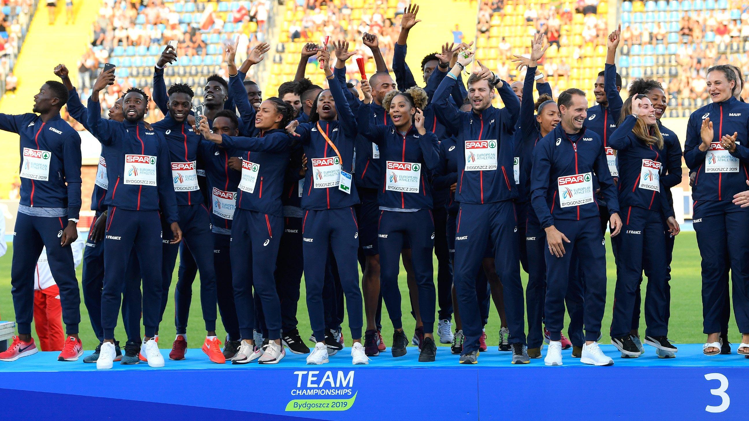 L'équipe de France d'athlétisme prépare Tokyo en Martinique