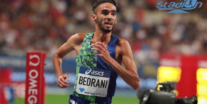 """Seul Français en lice de la Diamond League de Bruxelles, Djilali Bedrani a pris la dixième place du 3000 m steeple en 8'16""""60."""