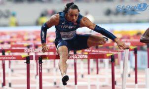 Pascal Martinot-Lagarde, malgré un départ un peu délicat, se qualifie tranquillement pour les demi-finales du 110 m haies en remportant sa série en 13''45 aux Championnats du Monde de Doha.