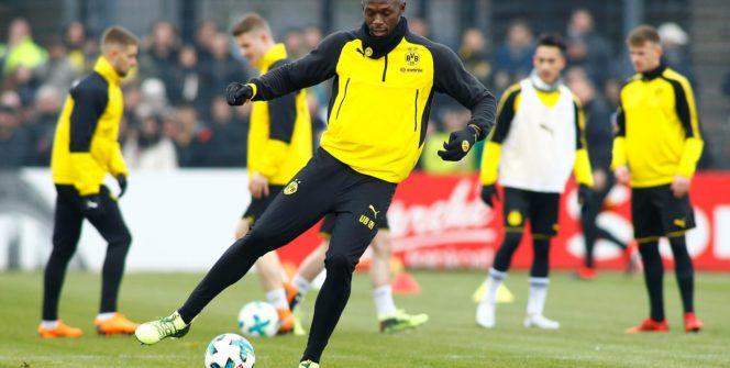 Usain Bolt, l'homme le plus rapide du monde, a loué les qualités de vitesse du joueur du PSG Kylian Mbappé.