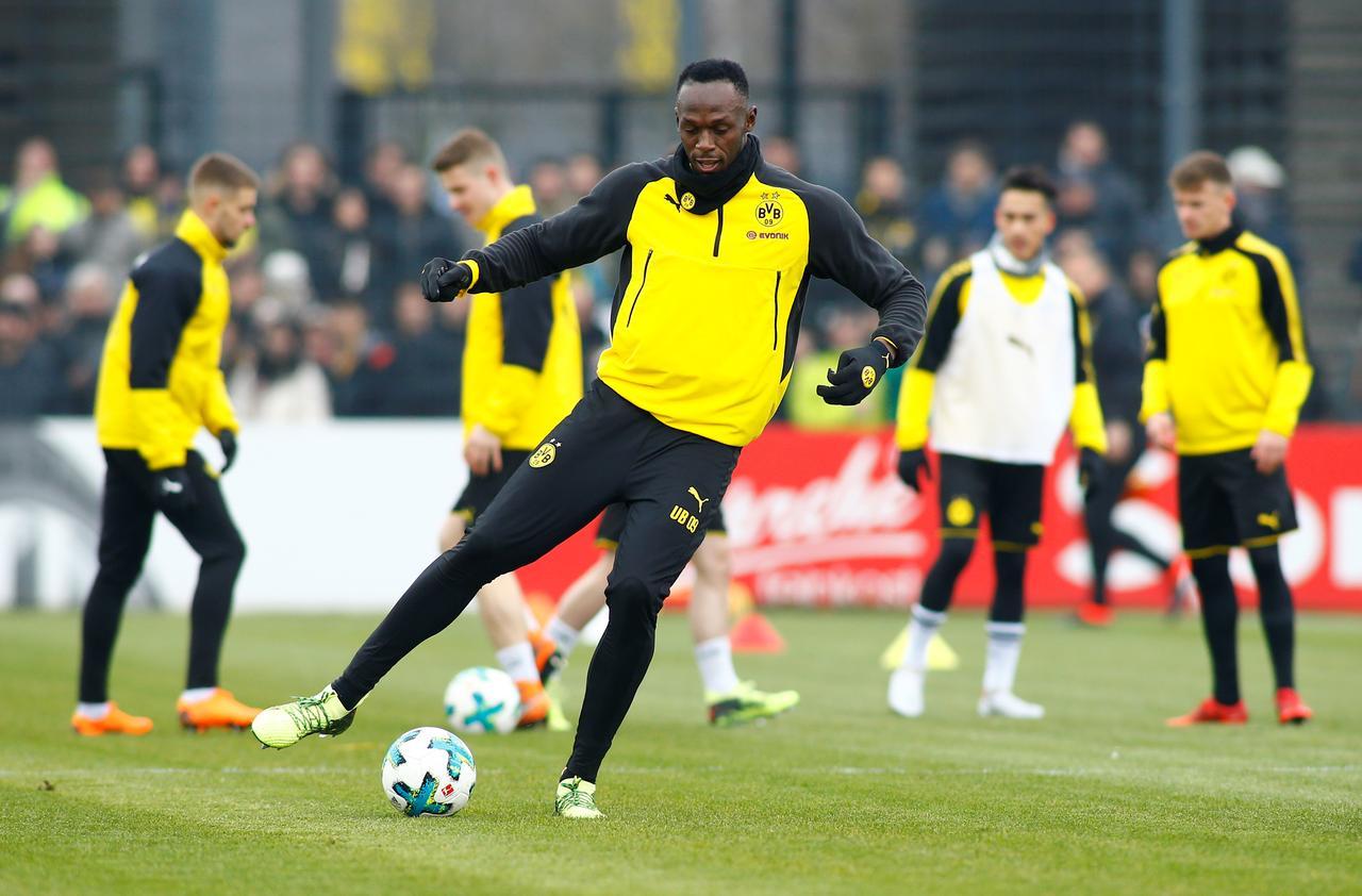 Usain Bolt s'enflamme pour Kylian Mbappé