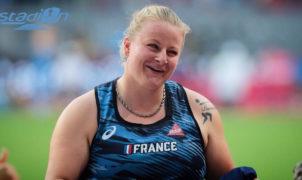 Alexandra Tavernier s'est qualifiée pour la finale du marteau à Doha.