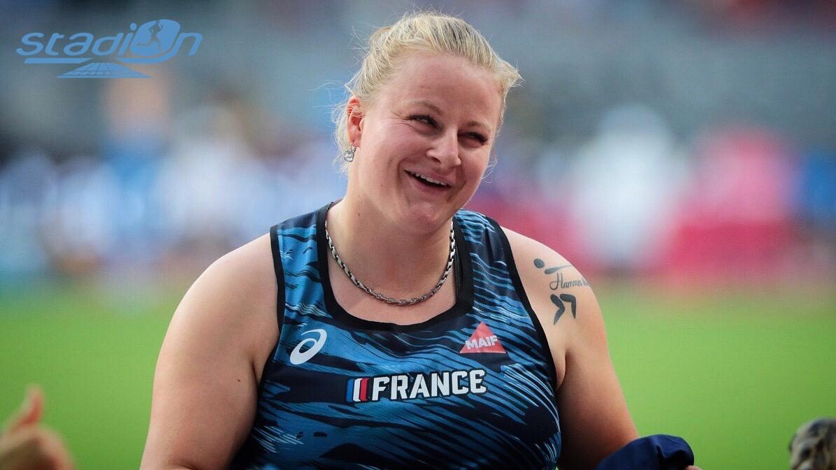 Athlétisme : Alexandra Tavernier en pleine forme