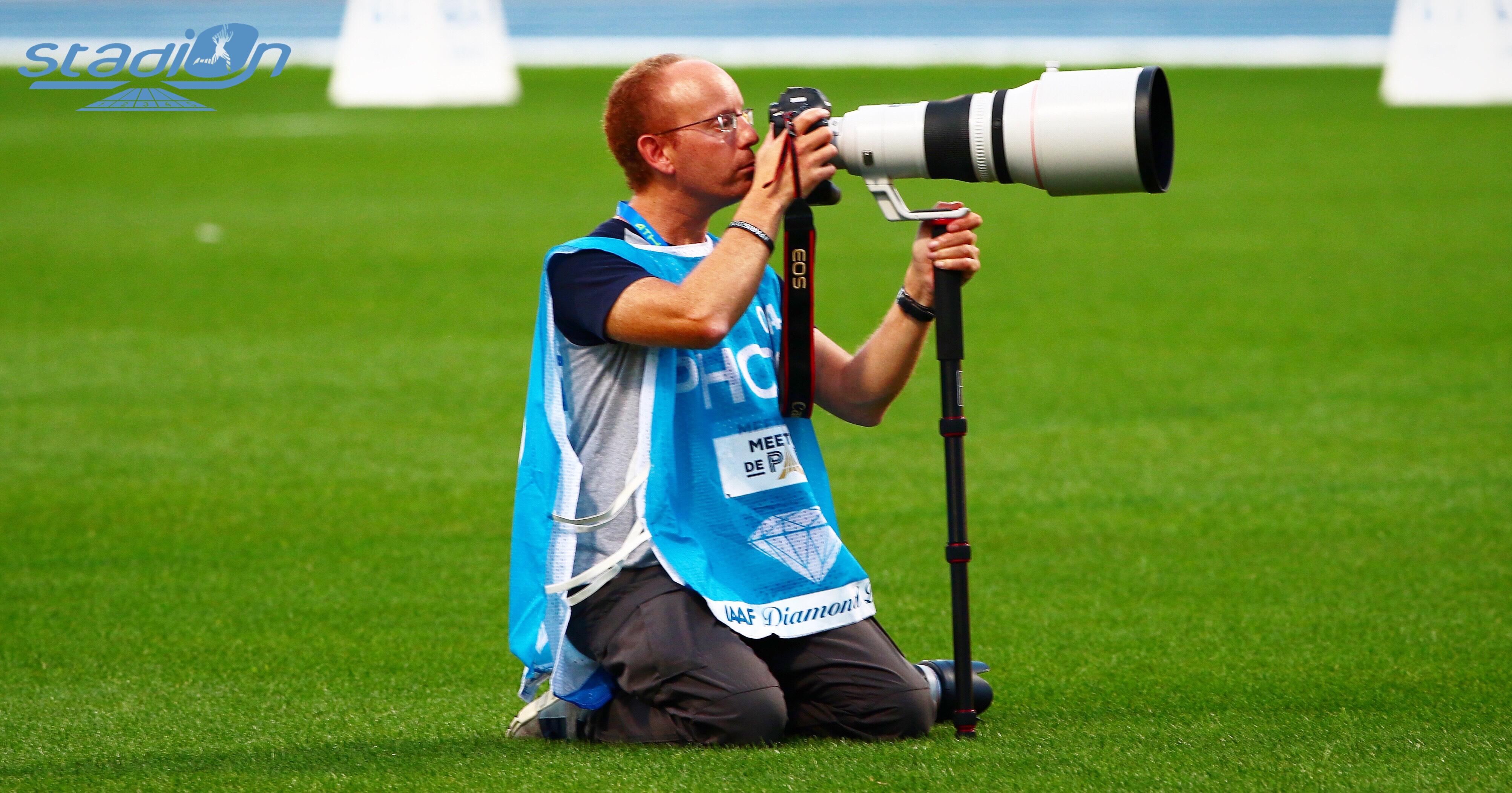 L'athlétisme dans l'objectif de Matthieu Tourault