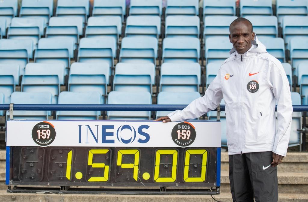 Marathon en moins de 2 heures : Bientôt le jour J pour Eliud Kipchoge