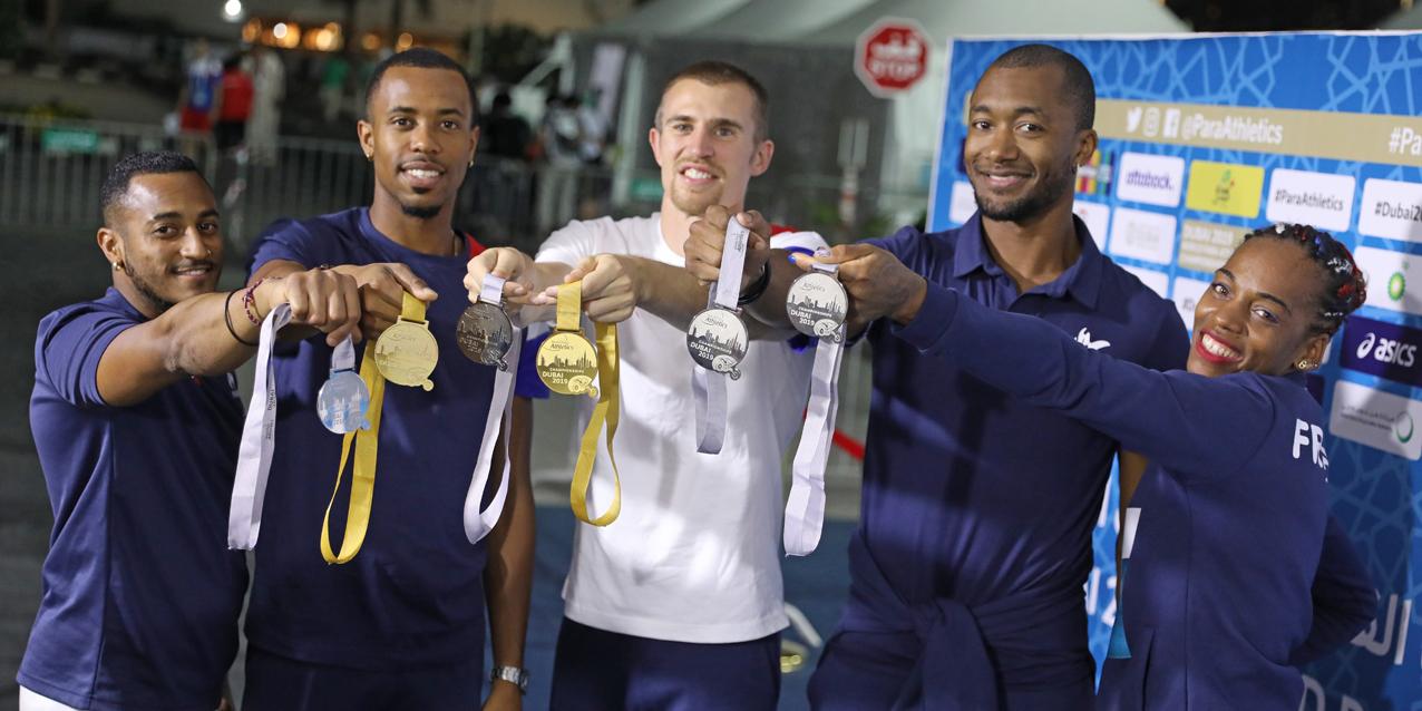 Championnats du Monde handisport : La France repart avec six médailles