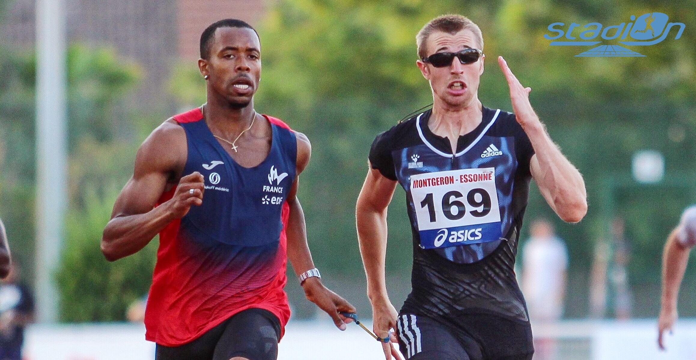 Timothée Adolphe, champion du monde handisport du 400 m