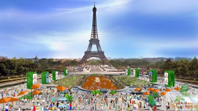Pour attirer du public, l'organisation des Championnats d'Europe de Paris 2020 mise sur plusieurs animations hors du stade entre la tenue de concerts et la mise en place d'un 10 km populaire sur une partie du parcours du semi-marathon de la compétition.