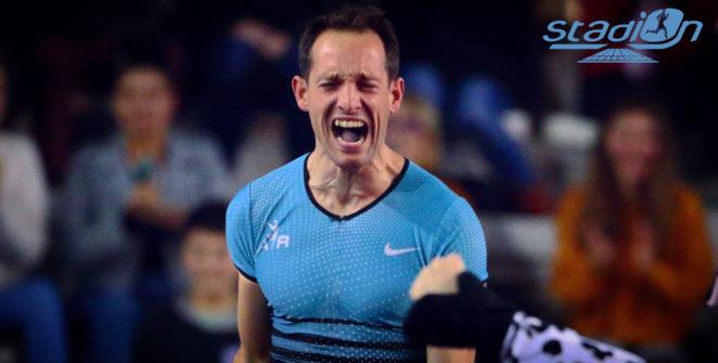 Renaud Lavillenie confirme son bon début de saison en remportant le concours de perche du du Meeting de Karlsruhe (Allemagne) avec 5,70 m.