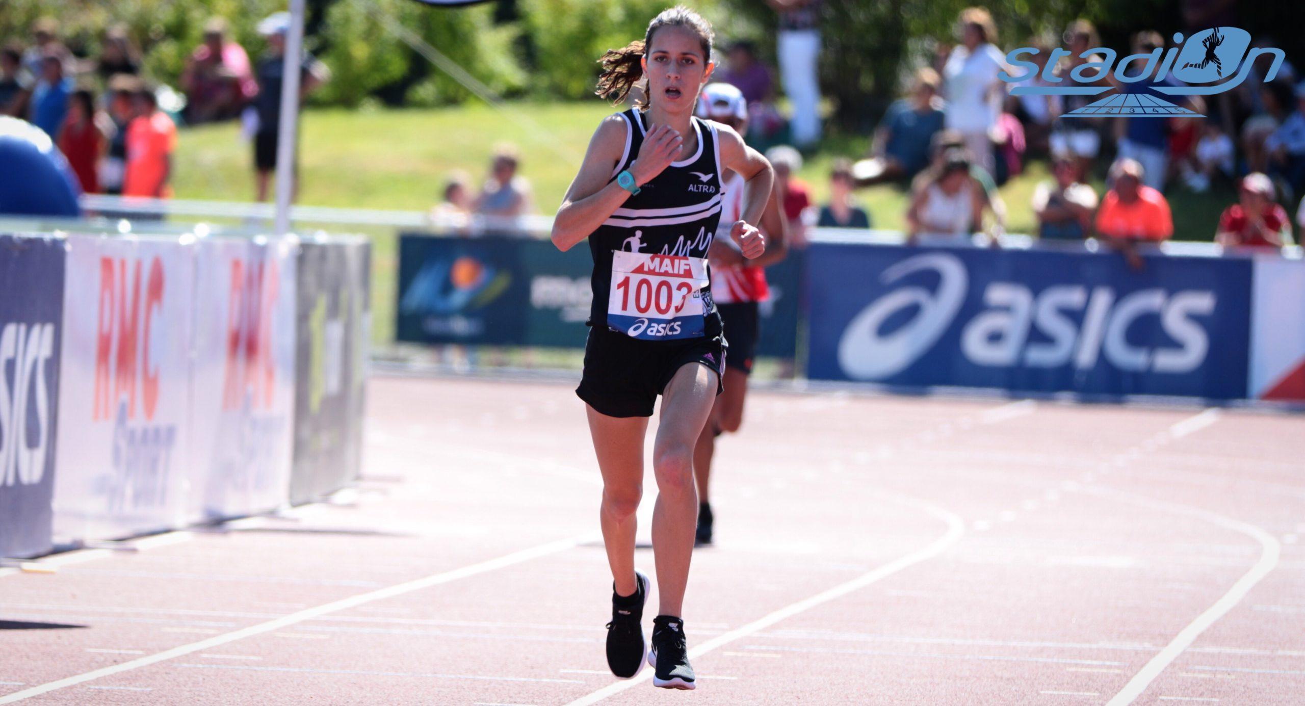 Record de France espoirs du 10 km pour Mélody Julien