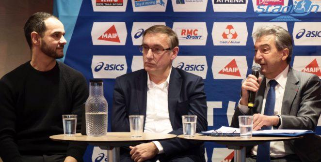La Fédération Française d'Athlétisme a présenté ce mardi matin à la presse, dans les locaux du MAIF Social Club à Paris, les grands enjeux et objectifs de son année 2020.