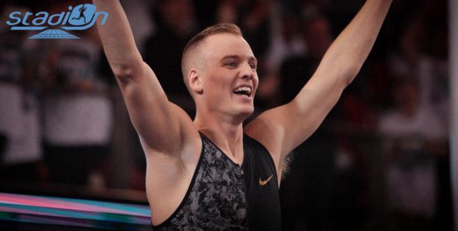 L'Américain Sam Kendricks a franchi 6,01 m lors du Perche Elite Tour de Rouen.