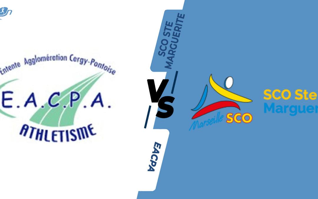 Interclubs virtuels – 8ème de finale : EA Cergy-Pontoise – SCO Ste Marguerite