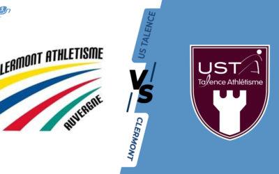 Interclubs virtuels – 8ème de finale : Clermont Athlétisme Auvergne – US Talence