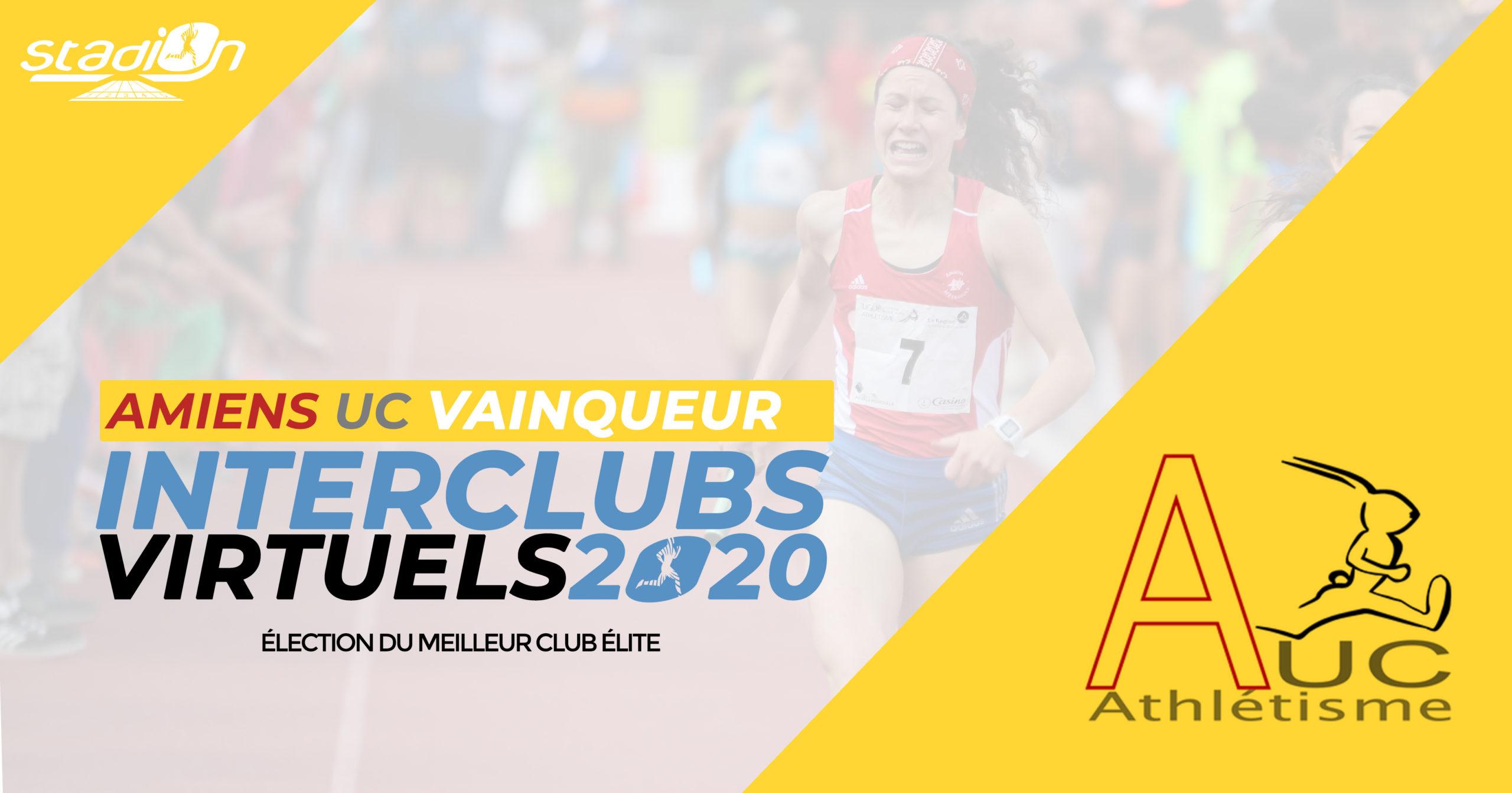 C'est Amiens UC qui décroche le titre honorifique de meilleur club Élite 2020 à cette élection organisée par Stadion.