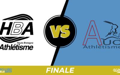 Interclubs virtuels – Finale : Haute Bretagne Athlétisme – Amiens UC