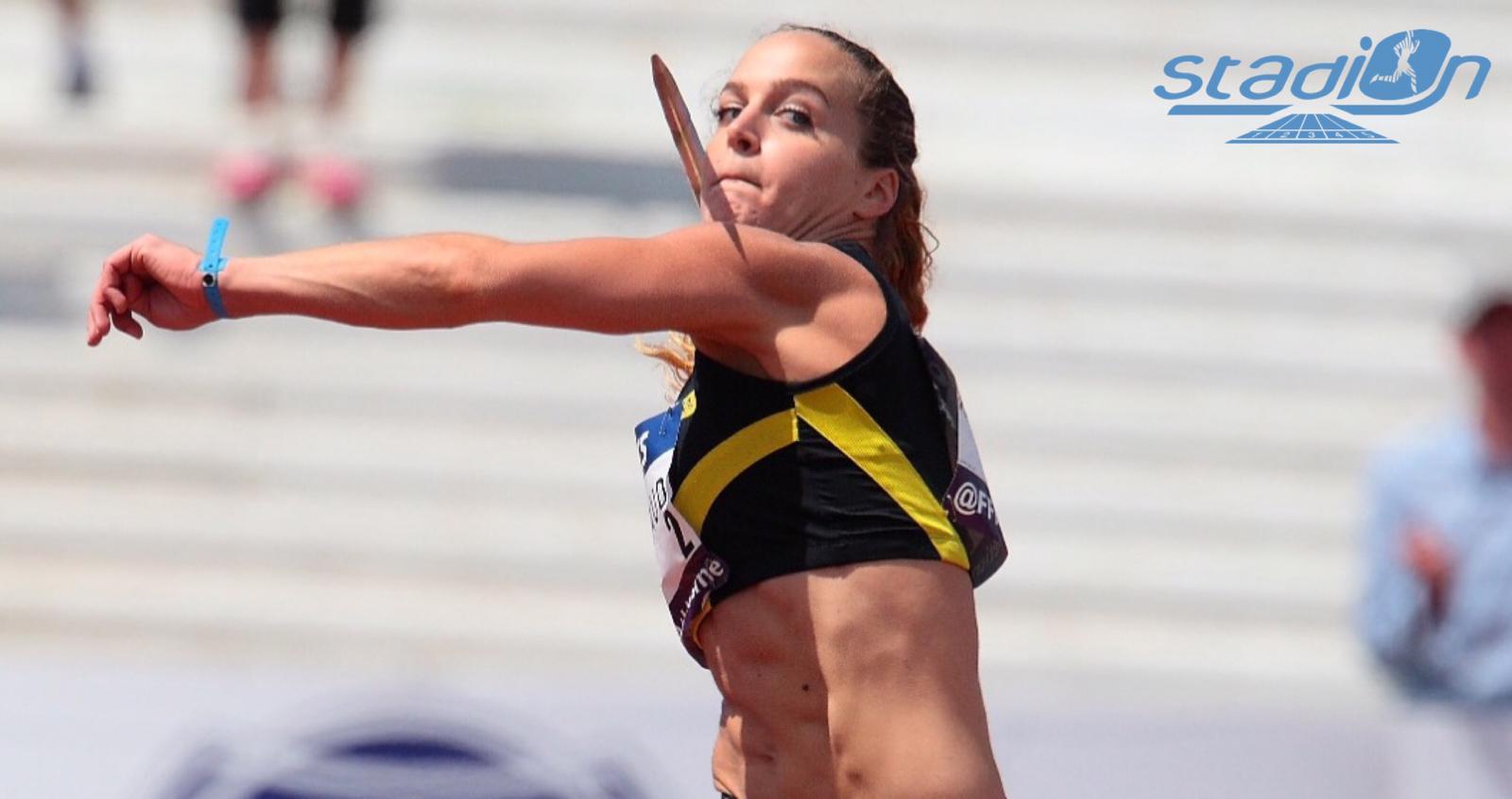 La recordwoman de France du lancer du javelot Mathilde Andraud a annoncé sur les réseaux sociaux son choix de mettre un terme à sa carrière sportive pour se consacrer à son métier de kinésithérapeute.