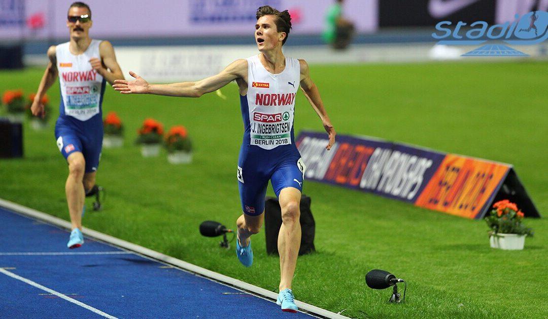 Record de Norvège du 5 km pour Jakob Ingebrigtsen !