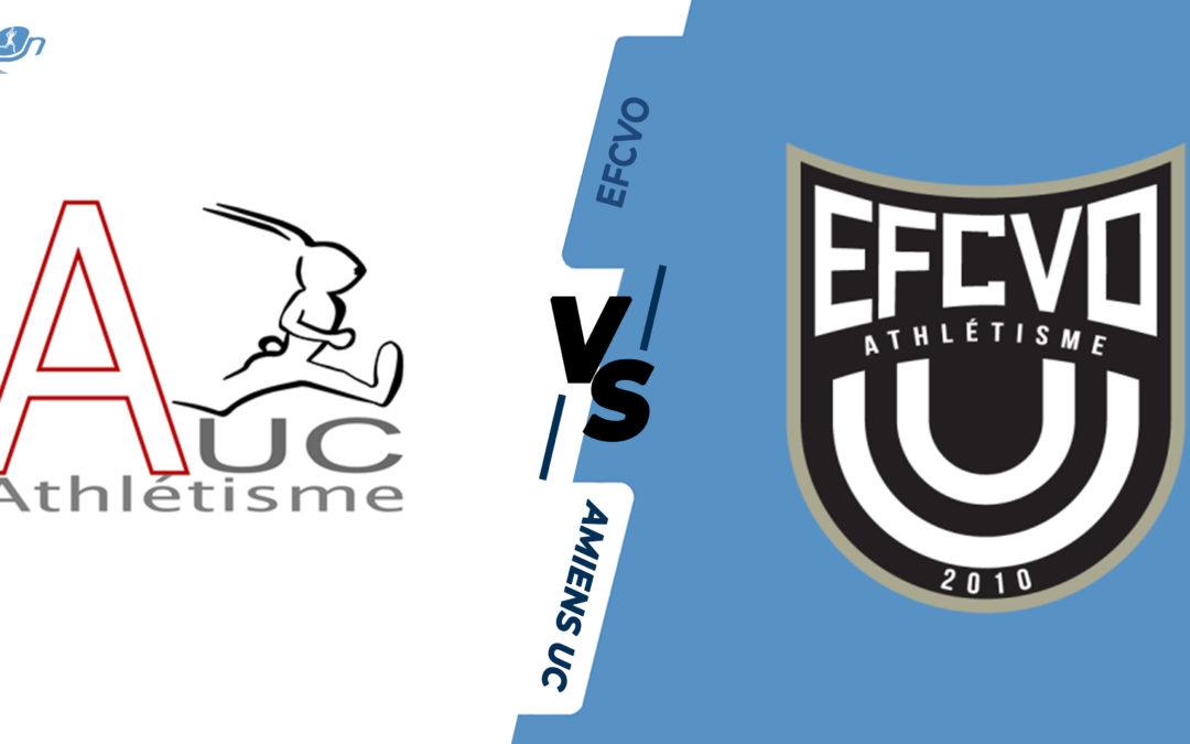 Interclubs virtuels – 1/4 de finale : Amiens UC – Entente Franconville Césame Val-d'Oise