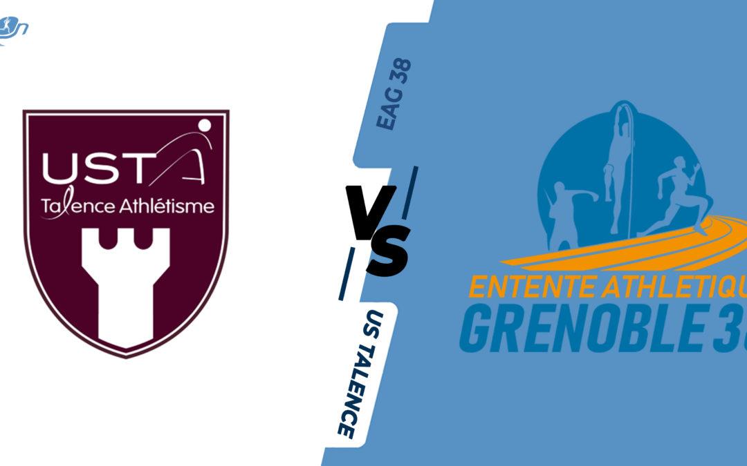Interclubs virtuels – 1/4 de finale : US Talence – EA Grenoble 38
