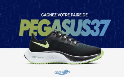 CONCOURS : Gagnez une paire de Nike Air Zoom Pegasus 37