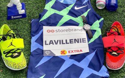 Renaud Lavillenie s'affiche avec des pointes Nike Air Jordan