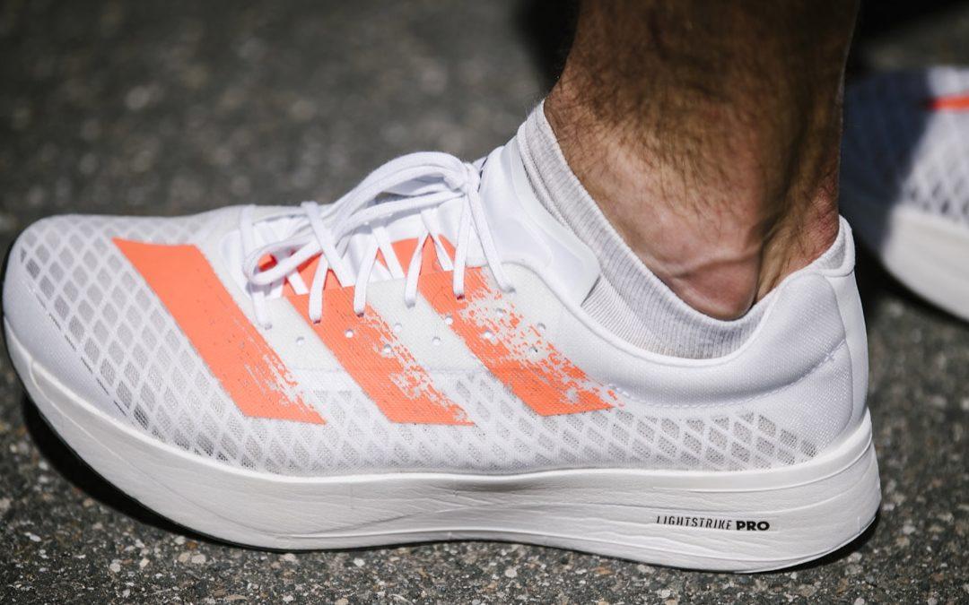 Adidas running lance l'Adizero Adios Pro
