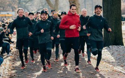 Roger Federer dévoile sa première sneaker avec On Running