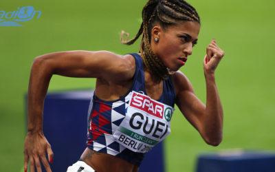 Floria Gueï au casting d'un documentaire avec Usain Bolt
