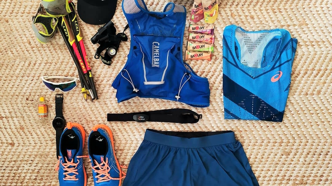 L'équipement trail de Xavier Thévenard pour le GR20 !