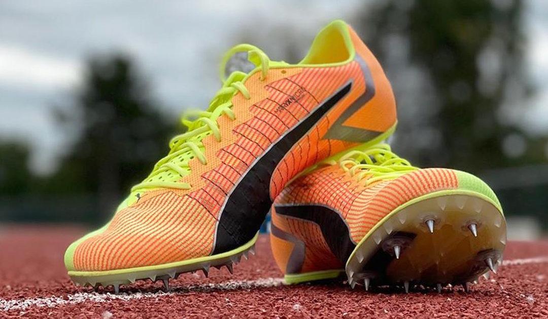 Athlétisme : Puma dévoile ses pointes de sprint evoSPEED TOKYO !