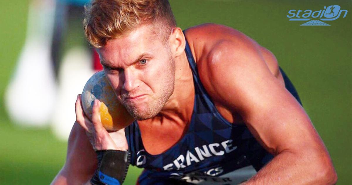 Le recordman du monde du décathlon Kevin Mayer a réalisé 15,39 m au poids et 47,96 m au disque pour sa compétition de rentrée à Montpellier ce jeudi.