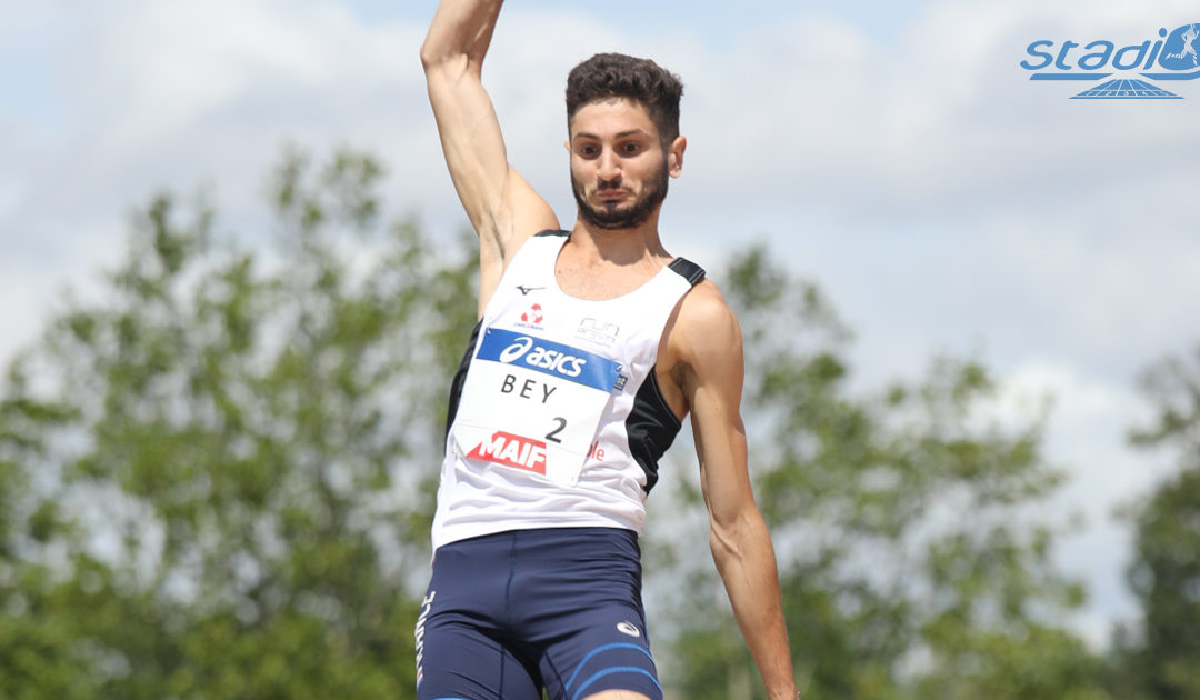 Athlétisme : Augustin Bey et Jean-Marc Pontvianne déjà bondissants