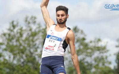 Athlétisme : Augustin Bey décolle à 8,13 m !